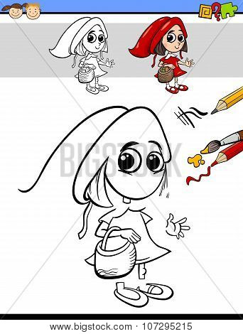 Drawing And Coloring Task For Children