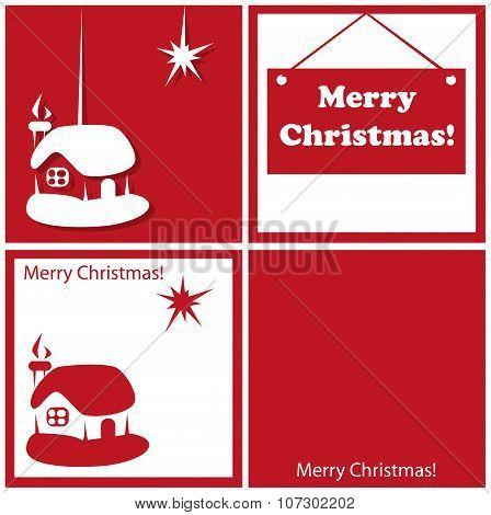 Christmas Star And House