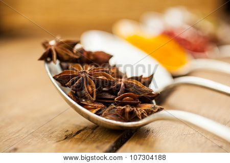 Anise Inside The Spoon
