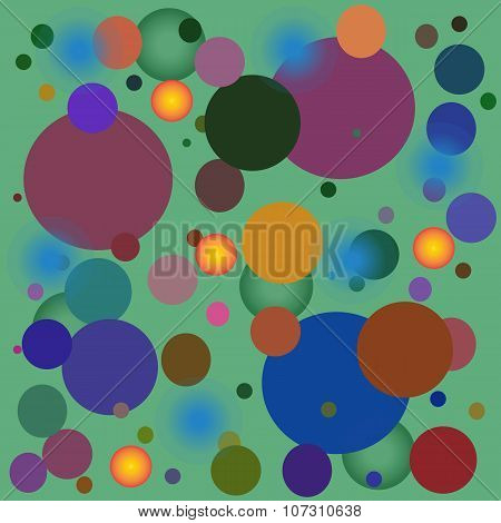 Vector Pattern With Circles