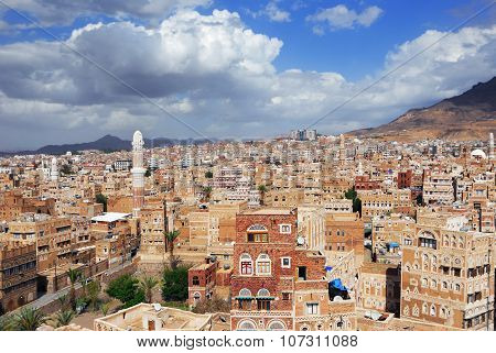 Sanaa The Capital Of Yemen