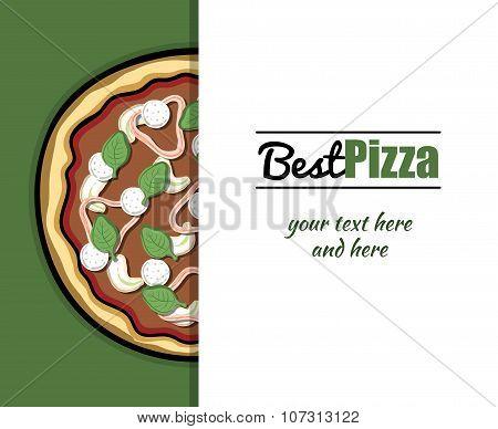 Menu For Pizzeria 3