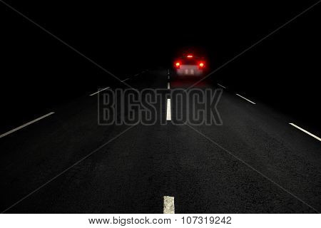 Road At Night