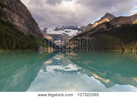 First Light On Lake Louise