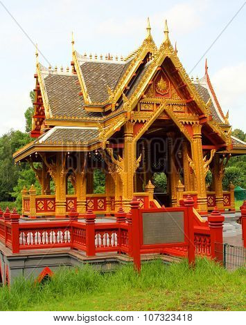 The Image Of The Asian Pagoda