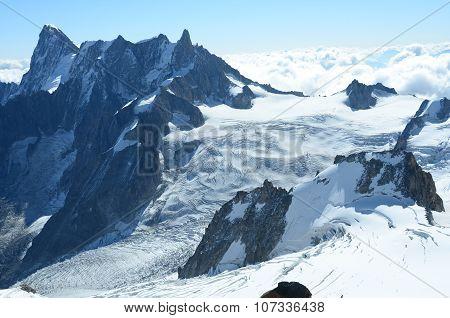 Ridges and Glaciers