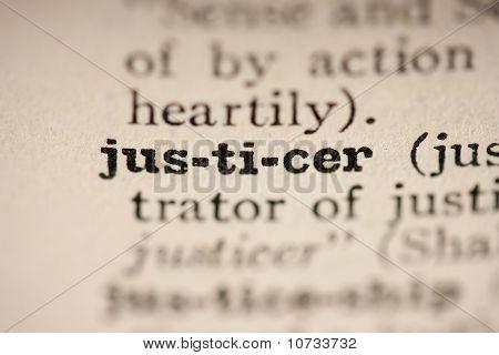 Word Justicer