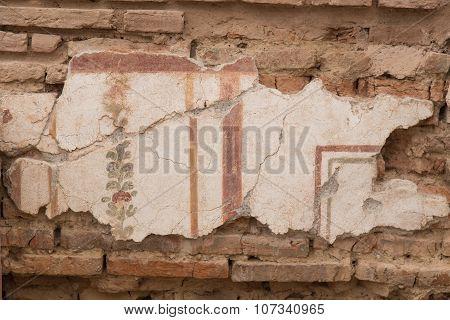 Drawings In Terrace Houses, Ephesus Ancient City