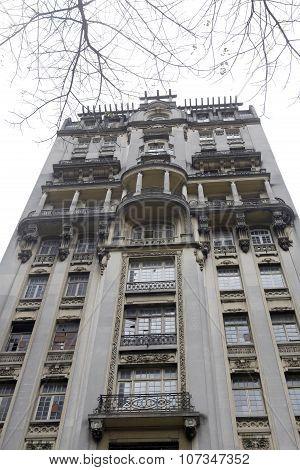 Old Building In Sao Paulo, Brazil