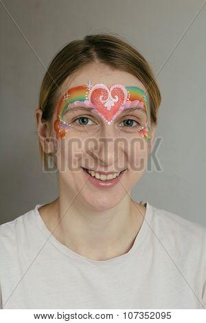 Tiara Face Painting