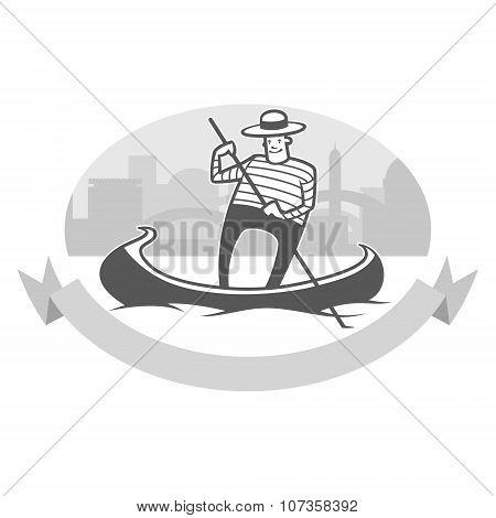 Gondola With Gondolier