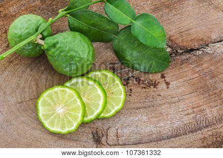 Kaffir Lime (bergamot).