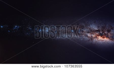 Milky way. Elements of this image furnished by NASA