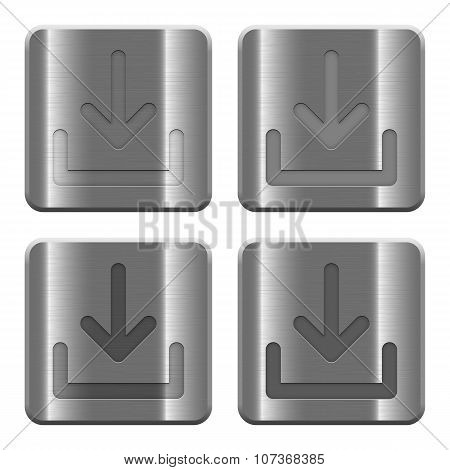 Metal Download Buttons