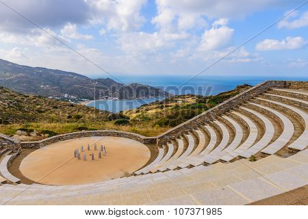 The ancient amphitheatre