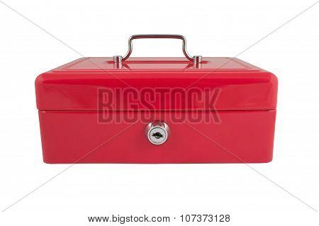 Red Metallic Box