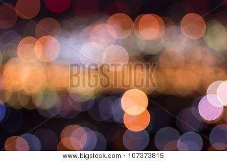 Abstract Bokeh Refinery Or Cityscape