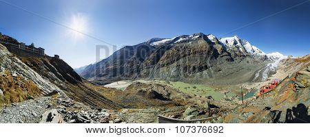View Of Franz Josefs Hohe Glacier, Hohe Tauern National Park, Austria
