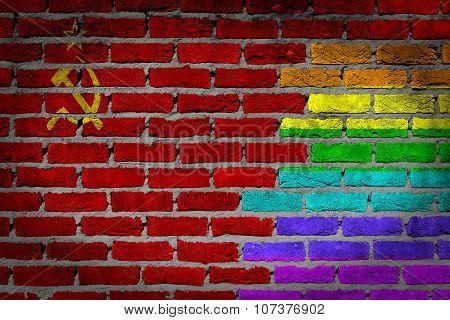 Dark Brick Wall - Ussr
