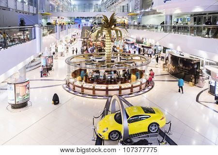 Dubai International Airport 9 March 2015. Dubai International Is One Of The Fastest Growing Major Hu