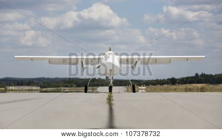 Unmanned Aerial Vehicle (uav) In The Sky
