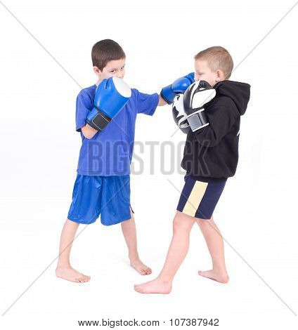 Kids Kickboxing Fight