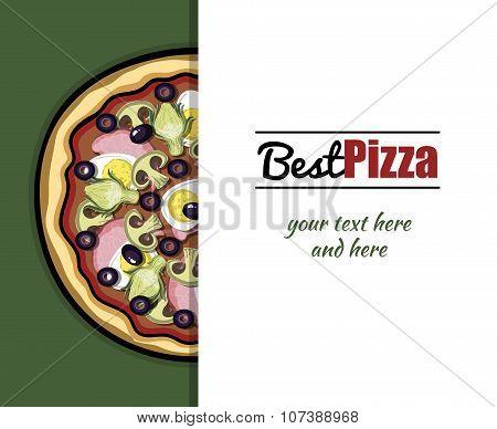 Menu For Pizzeria 5