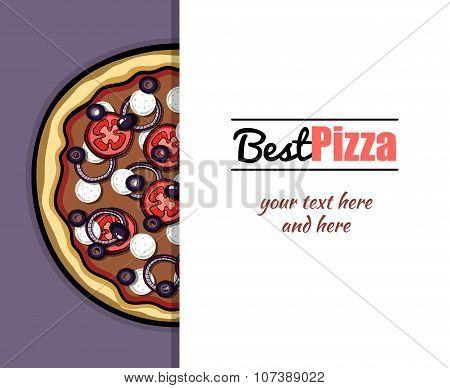Menu For Pizzeria 6