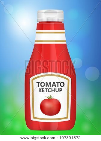 Tomato Ketchup Background
