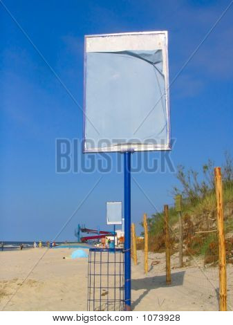 Empty Beach Advert 2