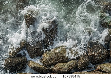 Rocks And Whitewater