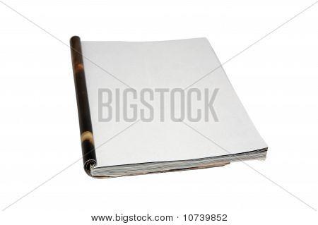 Blank page magazine