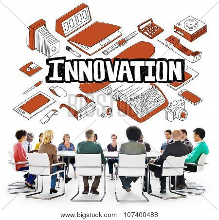 Innovation Future Improvement Technology Modernization Concept
