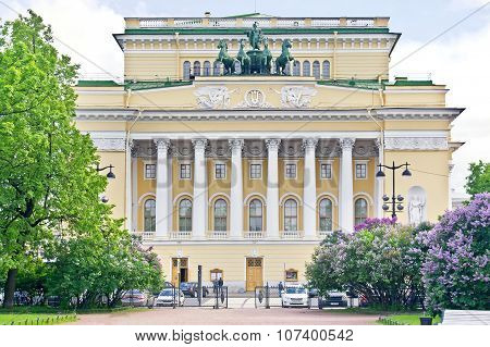 Russian State Academic Theatre Of Drama The Name Of ?. ?. Pushkin