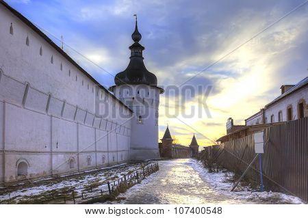 Kremlin Of City Rostov. Evening