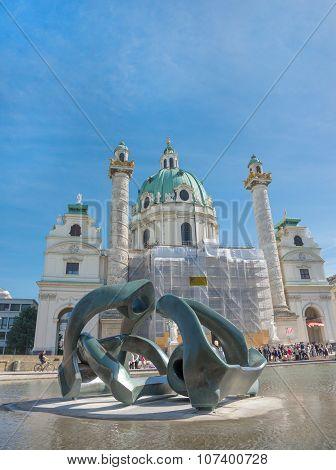 Chiesa Di San Carlo Borromeo - Karlskirche - Vienna