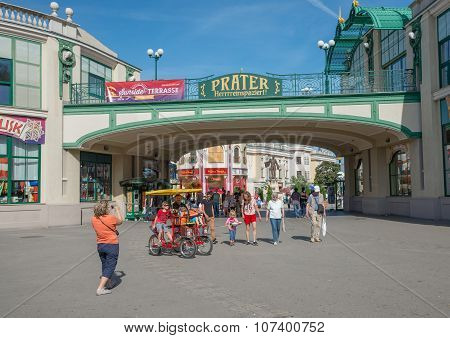 People In Prater Park - Vienna, Austria