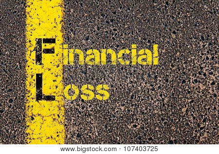 Business Acronym Fl As Financial Loss