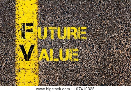 Business Acronym Fv As Future Value