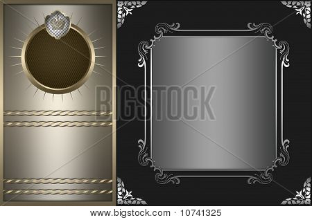Background with frame.