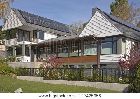 Solar Pannels On Homes Seattle Wa.