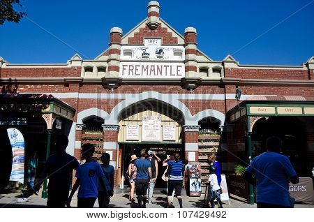 Entrance to Historic Fremantle Markets