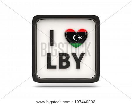 I Love Libya Sign