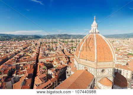 cathedral church Santa Maria del Fiore, Florence, Italy