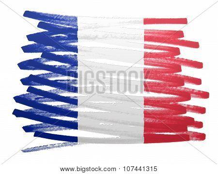 Flag Illustration - France