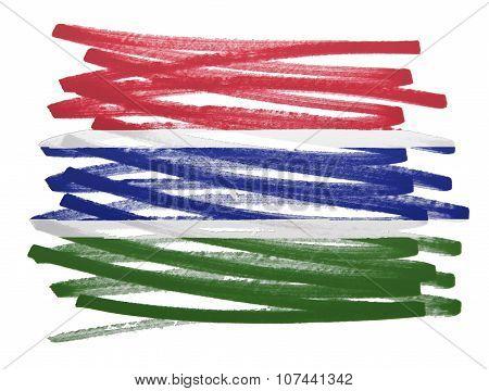 Flag Illustration - Gambia