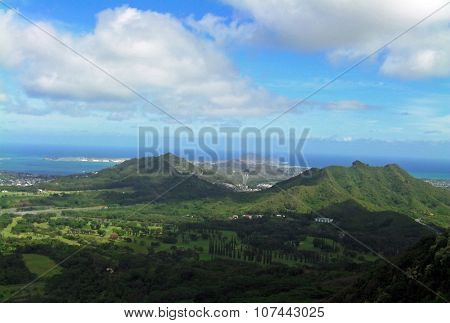 Island Of  In Hawaii
