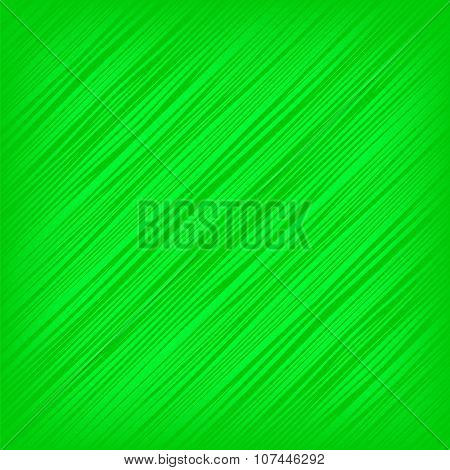 Green Diagonal Lines Background
