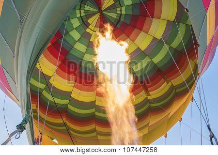 Gas Burner Of A Hot Air Balloon
