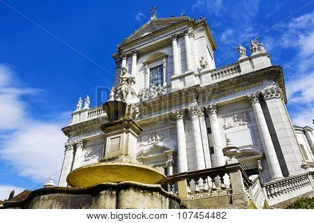 Cathedral Of Saint Ursus In Solothurn, Switzerland